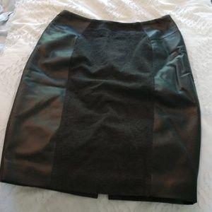 Michael Kors Skirts - Slim-fitting below knee charcoal gray skirt